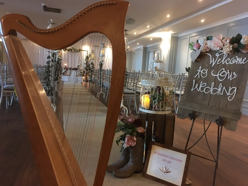 HARP FOR WEDDING €200