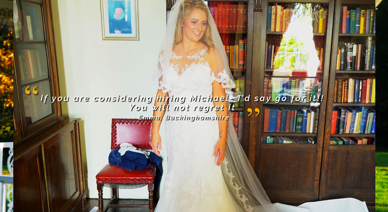 Affordable Wedding Films from Michael Hurley €699