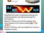 DJ Mr Wild €350